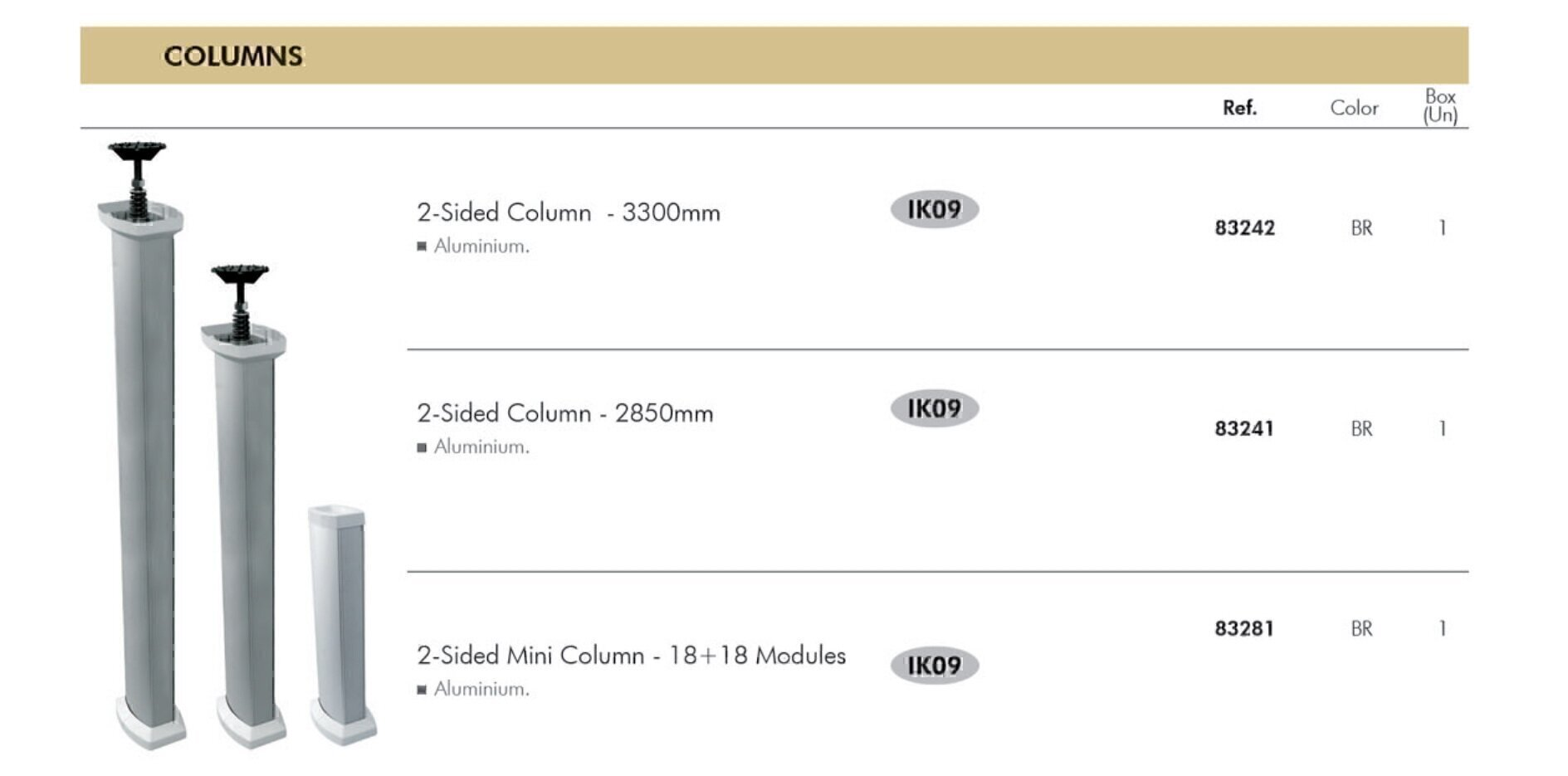 FOLOOR BOXES ایفاپل مدل COLUMNS